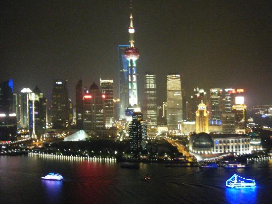 view from the vue bar at the hyatt on the bund picture of hyatt on