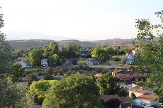 Los Altos Bed and Breakfast: View toward Grand Junction