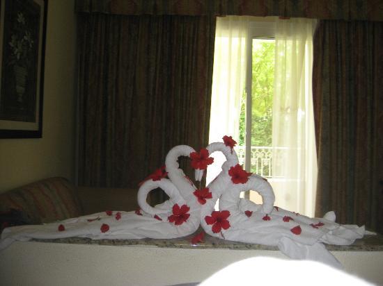 Hotel Riu Palace Punta Cana: Better towel art
