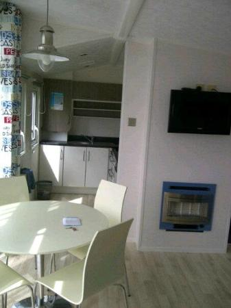 Lakeland Holiday Park - Haven : From Patio Doors looking at Kitchen