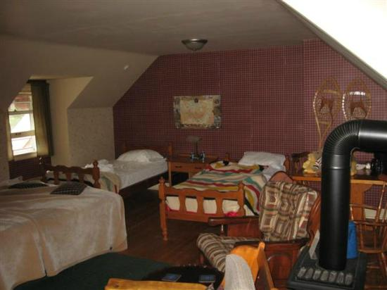 Fortune's Madawaska Valley Inn : Great Room