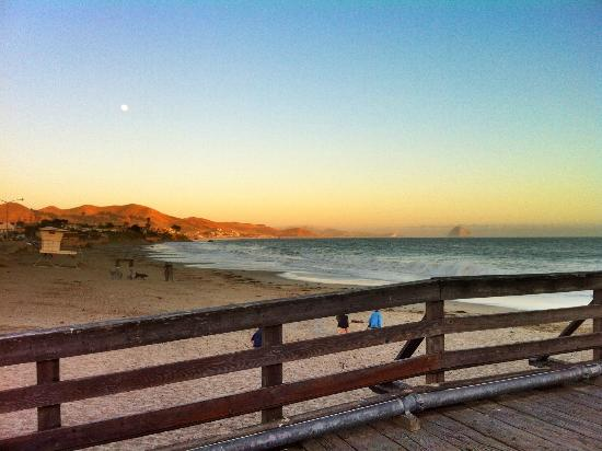 On The Beach Bed & Breakfast: View from the Pier