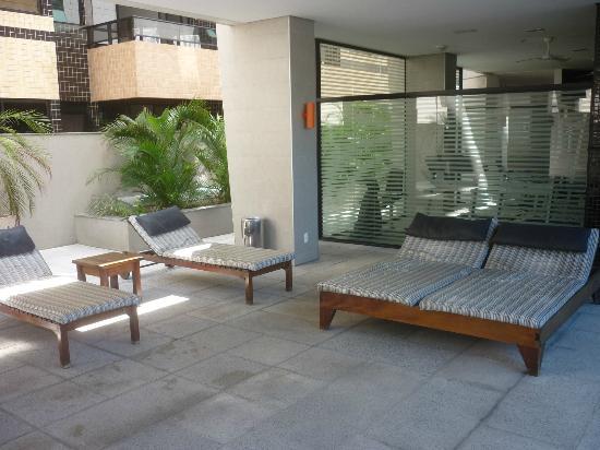 Ritz Coralli Hotel: Área da piscina