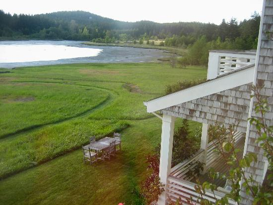 The Inn on Orcas Island: View from our windows