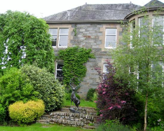 Balnearn House: view from the back garden