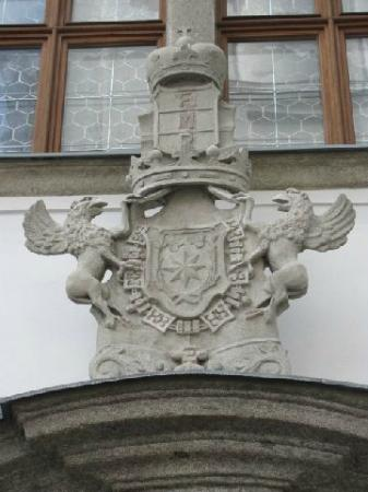 Jesuit College: coat of arms