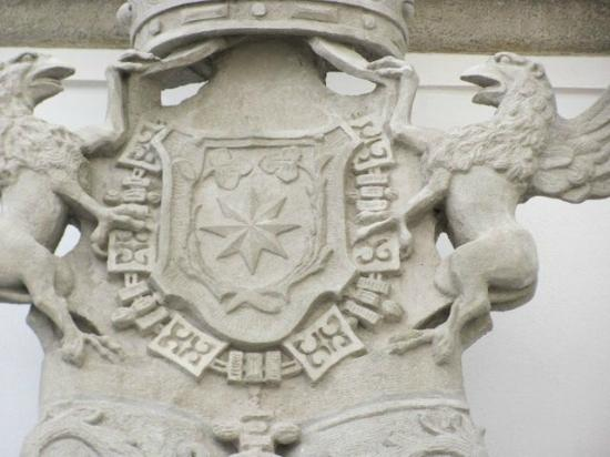 Jesuit College: coat of arms detail