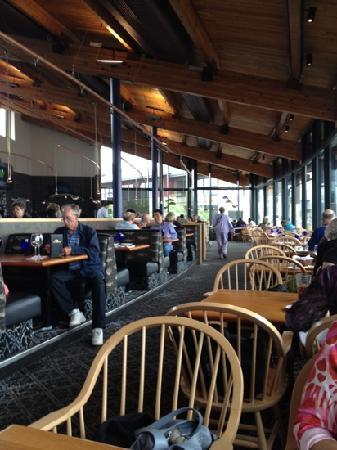 Anthony's Homeport: Inside restaurant
