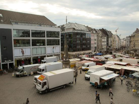 SternHotel Bonn: View on the Markt square