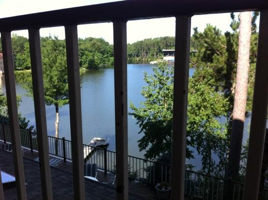 Cliffside Resort & Suites: balcony view