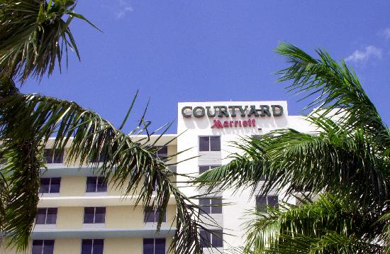 Courtyard Miami Airport: Courtyard by Marriott