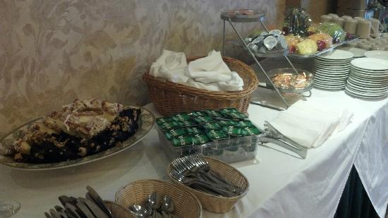 Holiday Inn Plainview - Long Island: Is this supposed to be breakfast for 50 people?