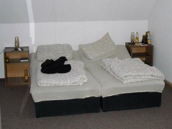 "Pennewitz, Alemania: So sah das ""Bett"" aus."