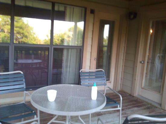 Wyndham Resort at Fairfield Bay: Patio
