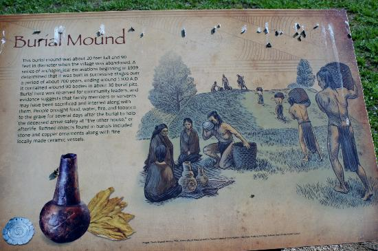 Caddo Mounds State Historic Site: Sign