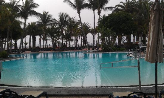 Hipotels La Geria: Lovely pool area