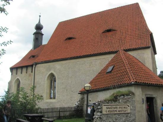 Rabi, Czech Republic: the church