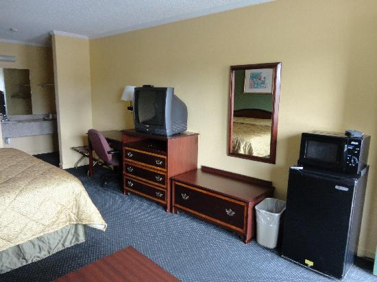 Rodeway Inn & Suites: King Bed