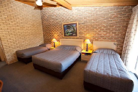 The Town House Motor Inn: Deluxe family room