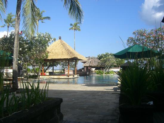 The Patra Bali Resort & Villas: View from breakfast area