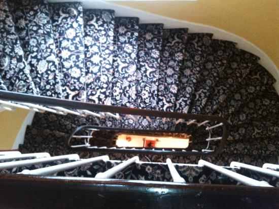 Zazie Hotel: famous staircase