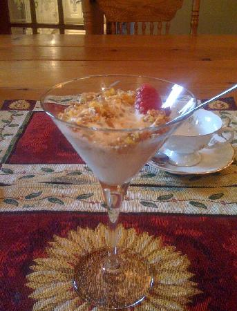 La Perrot Damoise: Yummy Muesli with your breakfast