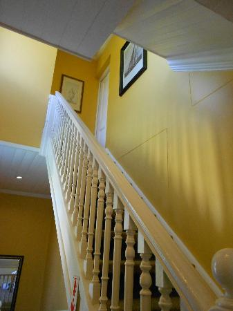 Summerwood Guest House: The stairs to our room