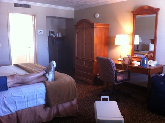 Red Arrow Inn & Suites: king suite