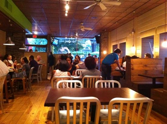 Taqueria Tsunami: Inside of restaurant