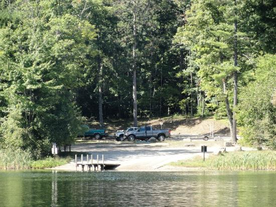 The Spider Lake Boat Launch