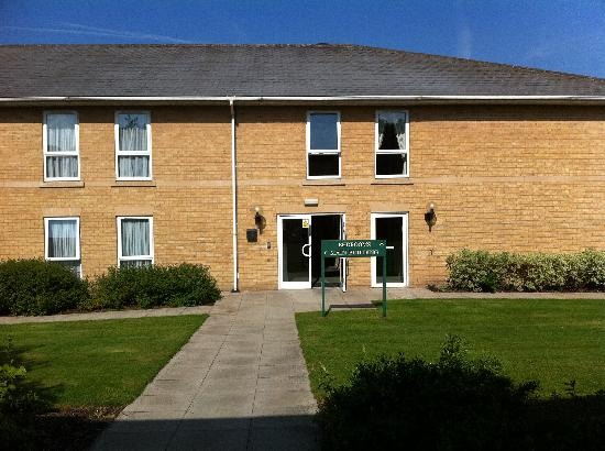 Eastwood Hall: This is what the accomodation blocks look like