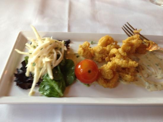 Hotel de l'ITHQ: Calamari - 3rd course