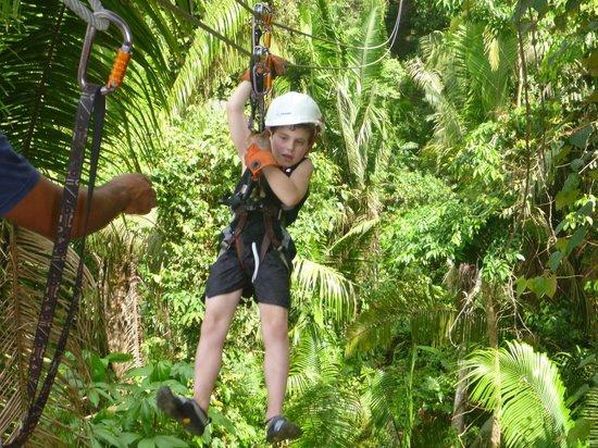 Bocawina Adventures & EcoTours Ltd. : Weee weeee weeee