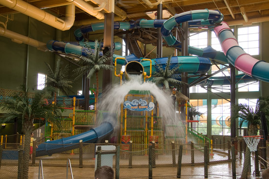 Maui Sands Resort & Indoor Waterpark: Huge Indoor Water Park