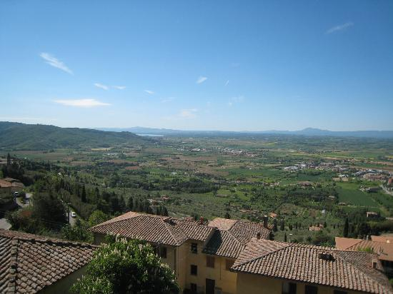 Castello delle Serre: View from our room