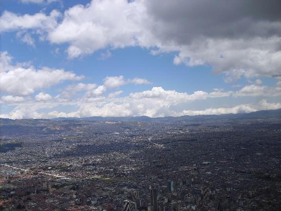Cerro de Monserrate: Bogotá desde El Monserrate