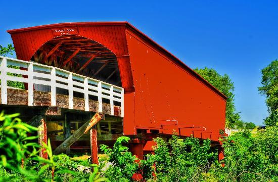Roseman Bridge, near Winterset, Iowa