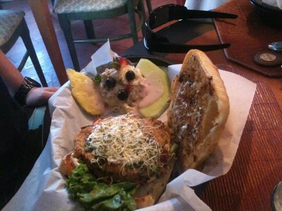Kings Bistro: shrimp burger