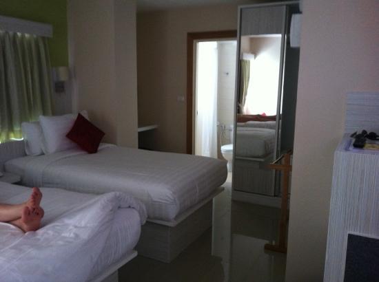 Prom Ratchada Residence & Spa: habitación