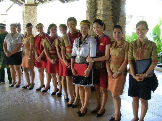 Farewell from the staff picture of shangri la s rasa ria for Uniform spa malaysia