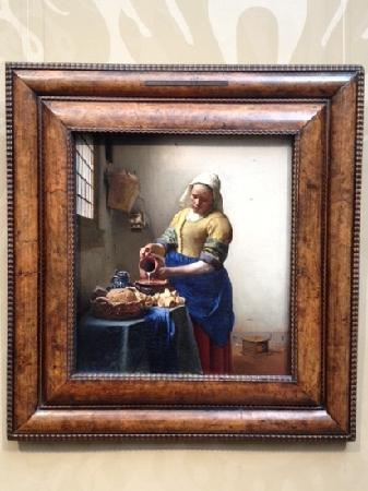 Vermeer\'s The Kitchen Maid - Picture of Rijksmuseum, Amsterdam ...