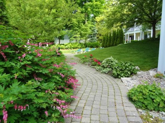 Harbour View Inn : Garden Path