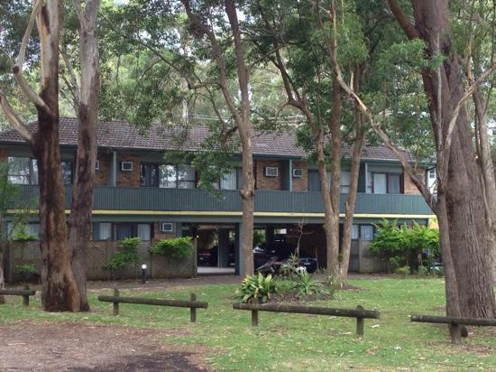 Port Stephens Motel: outside