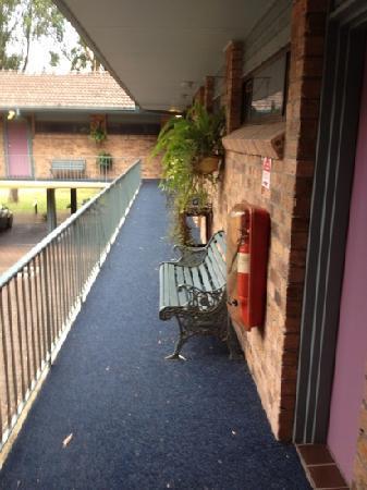 Port Stephens Motel: hall