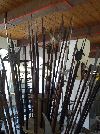 Medieval Crime Museum (Mittelalterliches Kriminalmuseum): Halberds