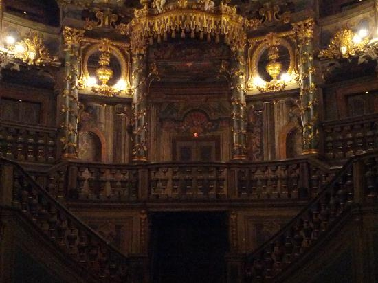 Markgrafliches Opera House: The rear staircase