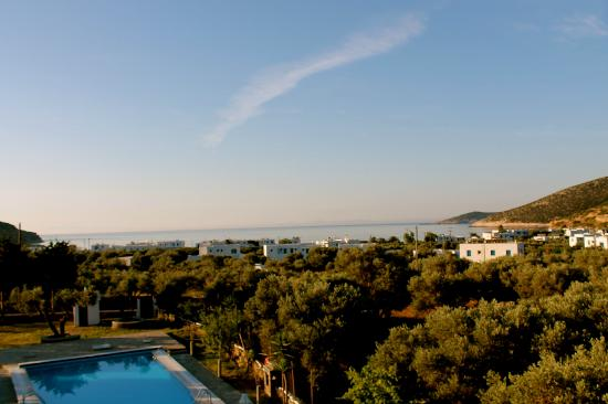 Villa Antoniadis: View from our room