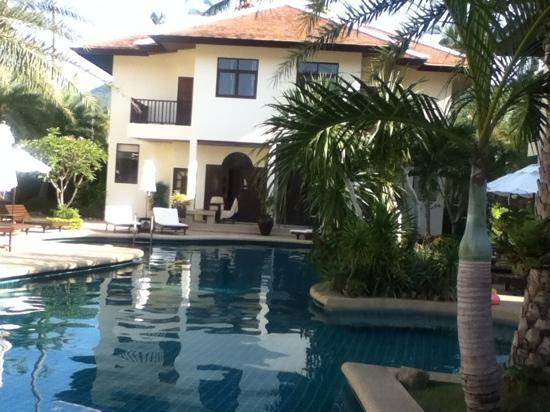 Dreams Villa Resort: Pool and Lodging one of the ten 2 Bedroomed villas