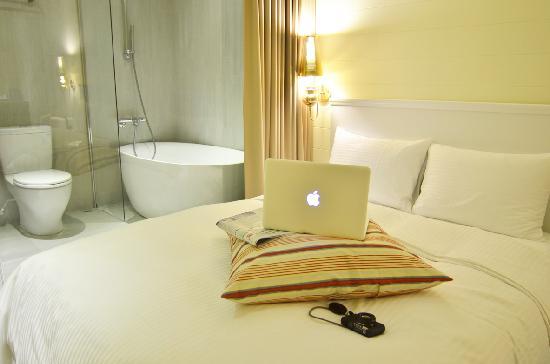 Via Hotel: 四人房