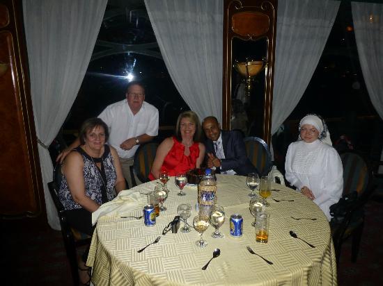 Go Travel Egypt - Day Tours: Mostafa and I on the Nile dinner cruise